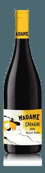 Madame F Grenache Vielles Vignes 2016 Grenache 100% Grenache Languedoc-Roussillon
