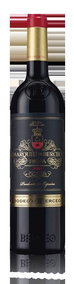 vin Marques De Berceo Crianza Rioja 2001 Tempranillo