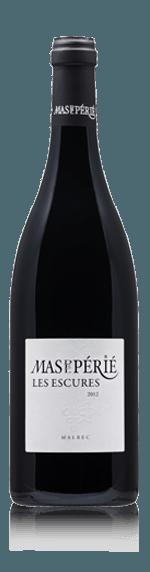 vin Mas Del Perie Les Escures Malbec 2017 Malbec