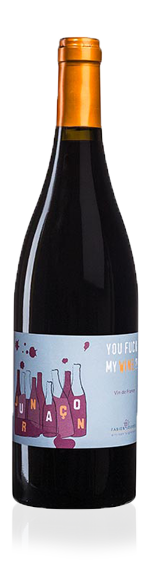 vin Mas del Perie 'You Fuck My Wine' Malbec