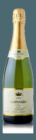 Cava Campanario Brut NV (i trälåda) Parellada 40% Parellada, 30% Macabeo, 30% Xarel.lo Penedès