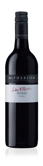 McPherson Family Series Andrew's Shiraz 2016 Shiraz