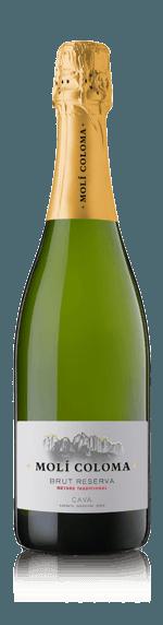 vin Moli Coloma Cava Brut Reserva Magnum NV Macabeo