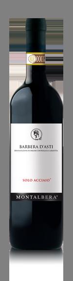 vin Montalbera Solo Acciaio Barbera d'Asti 2016 Barbera