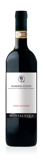 Montalbera Solo Acciaio Barbera d'Asti 2016