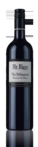 vin Mr Riggs The Delinquent Shiraz 2014 Shiraz