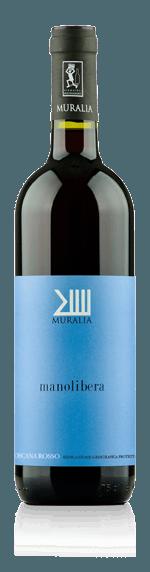 Muralia Manolibera Maremma 2016 (magnum) Sangiovese 50% Sangiovese, 25% Cabernet Sauvignon, 25% Merlot Toscana