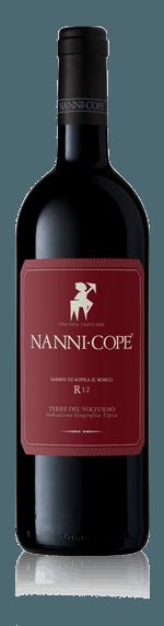 Nanni Copé Sabbie Di Sopra Il Bosco R12 (i trälåda) Pallagrello Nero 90% Pallagrello Nero, 5% Aglianico, 5% Casavecchia Kampanien