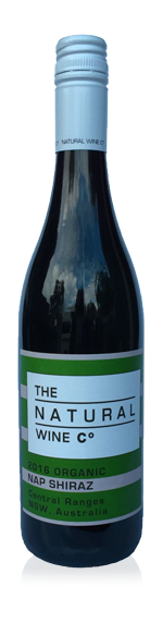 Natural Wine Co Shiraz 2015