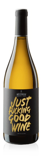 vin Neleman Just Fucking Good Wine Limited Edition 2017 Riesling