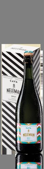 Neleman Organic Cava Brut NV i presentförpackning (singel)