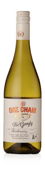 One Chain The Googly Chardonnay 2017 Chardonnay 100% Chardonnay South Eastern Australia