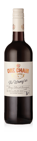 One Chain The Wrong 'un Shiraz Cabernet 2018 Shiraz-Syrah