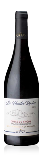 vin Ortas Les Hautes Roches 2016 Grenache