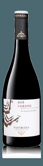 vin Panorama Côte du Rhône Village Cairanne 2016 Grenache