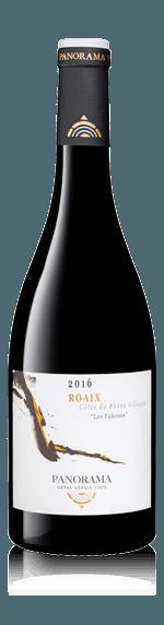 vin Panorama Côte du Rhône Village Roaix 2017 Grenache