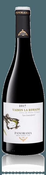 Panorama Vaison la Romaine 2017 Grenache Grenache, Syrah Rhônedalen