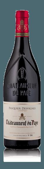 vin Pasquier Desvignes Châteauneuf Du Pape 2017 Syrah