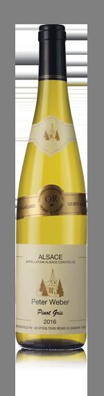 vin Peter Weber Pinot Gris Alsace Aoc 2016 Pinot Gris