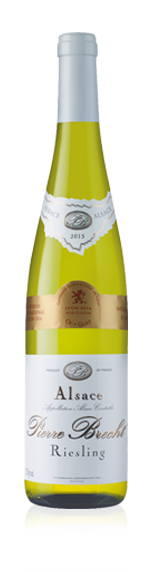 Pierre Brecht Riesling 2015 Riesling 100% Riesling Alsace