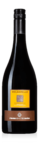 Poggio al Tesoro Bolgarello Rosso Bio 2015