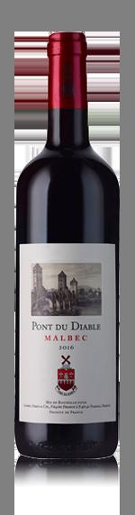 vin Pont du Diable Malbec 2016 Malbec
