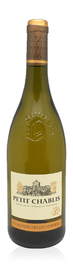 """vin Quinson """"Les Donjons Des Escoffiers"""" Petit Chablis 2015 Chardonnay"""
