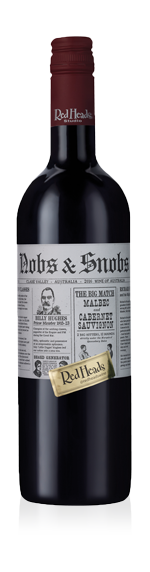 RedHeads Nobs & Snobs Malbec Cabernet Sauvignon 2016