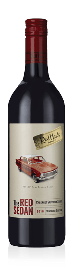 RedHeads The Red Sedan 2017 Cabernet Sauvignon 60% Cabernet Sauvignon, 40% Shiraz South Australia