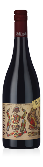 vin RedHeads Vin'atus Tempranillo Graciano Garnacha 2016 Tempranillo