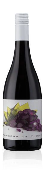 Redheads Princess Of Thieves MGS 2014 (i trälåda) Grenache 60% Grenache, 30% Shiraz, 10% Mataro South Australia