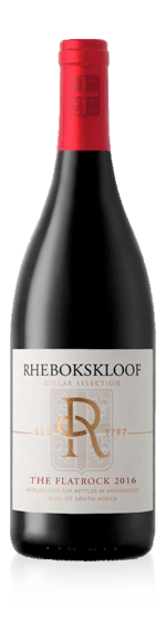 Rhebokskloof Cellar Selection Flat Rock Red 2016 Shiraz