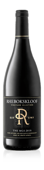 Rhebokskloof Vineyard Selection The MGS 2015
