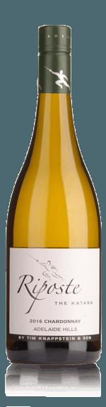 Riposte Katana Chardonnay 2016 Chardonnay 100% Chardonnay South Australia