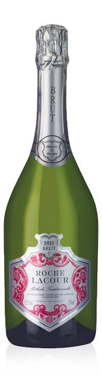 vin Roche Lacour Rosé Crémant 2015 Chardonnay