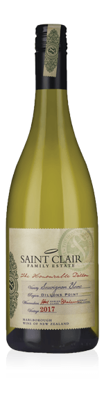 vin Saint Clair The Honourable Dillon Sauvignon Blanc 2017 Sauvignon Blanc