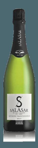 Salasar Carte Blanche Brut Blanquette de Limoux NV Mauzac 90% Mauzac, 10% Chardonnay och Chenin Blanc Languedoc-Roussilon
