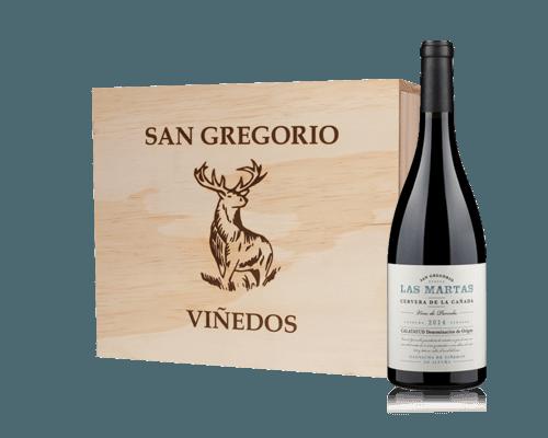 San Gregorio Las Martas Garnacha Vinos de Parcela 2014 (6 flaskor i trälåda)