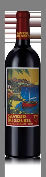 vin Saveur du Soleil Rouge 2016 Grenache