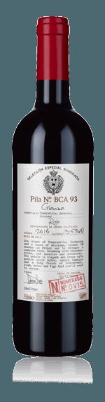 Selección Numerada Rioja Crianza v15 2016 Tempranillo 100% Tempranillo Rioja