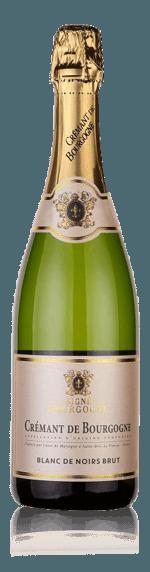 Signé Crémant de Bourgogne Blanc de Noirs Brut NV