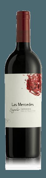 Las Mercedes Singular Carmenère 2016 Carménère 100% Carmenère Valle Central