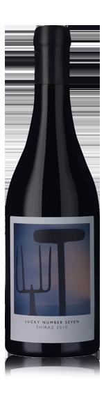 vin Stellenrust Lucky Number 7 Shiraz 2010 (50 CL) Shiraz