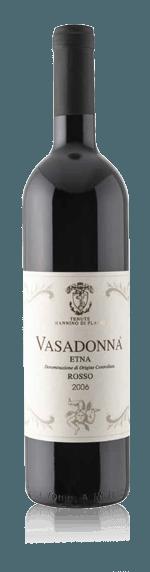 Tenuta Mannino Vasadonna Rosso Etna DOC 2006 Nerello Mascalese 100% Nerello Mascalese Siciilen