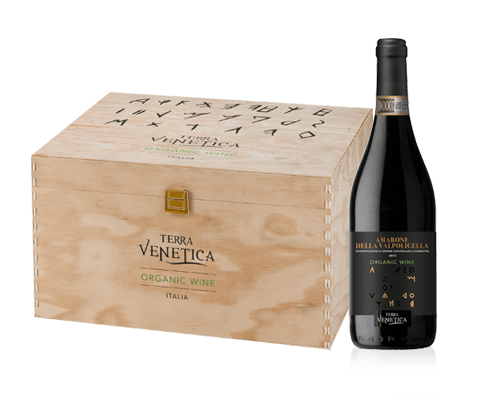 Terra Venetica Amarone della Valplicella Biologico 2015 (6 flaskor i trälåda)