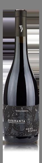 vin Terre di Bruca Quaranta Nero d'Avola 2014 Nero d'Avola