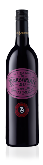 Berton The Barbarian Shiraz Merlot 2017 Shiraz 70% Shiraz, 30% Merlot South Eastern Australia
