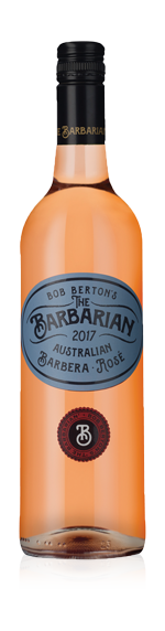 Berton The Barbarian Barbera Rose 2017