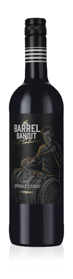 The Barrel Bandit Shiraz Durif 2017 Shiraz