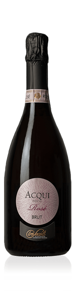 Tre Secoli Acqui Rosé Brut NV Brachetto 100% Brachetto Piemonte